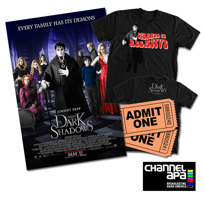 Win tickets to Dark Shadows Film Premiere
